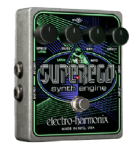Electro Harmonix Superego Synth Engine Guitar Pedal / Stomp Box